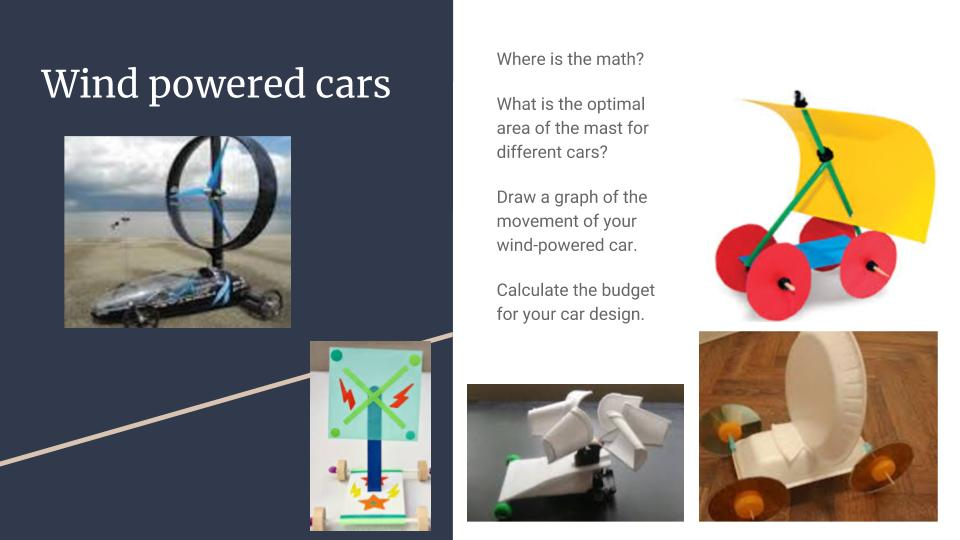 "Spark STEM Day 2_Wind-powered car and ""Graphic Stories"""